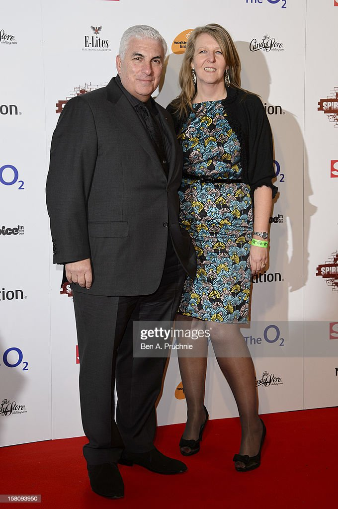 Mitch Winehouse (L) attends the Spirit of London Awards at the O2 Arena on December 10, 2012 in London, England.