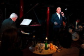 Mitch Winehouse performs at Jazz Club Soho on May 11 2011 in London England