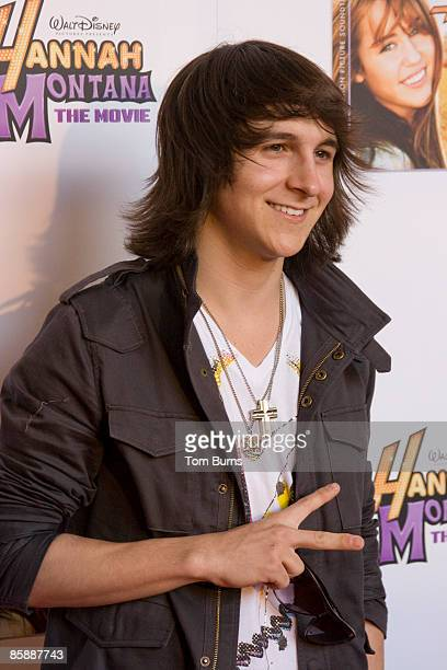 Mitchel Musso attends a VIP screening of 'Hannah Montana' at Regal Cinema in Green Hills on April 9 2009 in Nashville Tennessee