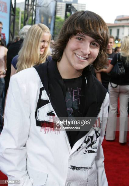 Mitchel Musso during Los Angeles Premiere of Columbia Pictures 'Monster House' at Mann Village in Westwood California United States