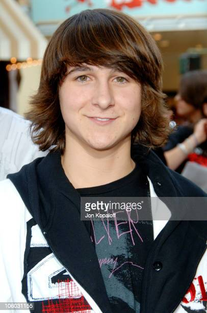 Mitchel Musso during 'Monster House' Los Angeles Premiere Arrivals at Mann Village Theater in Westwood California United States