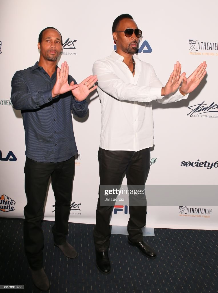 Mitchell Diggs and RZA attend the 'Extraordinary: Stan Lee' on August 22, 2017 in Los Angeles, California.