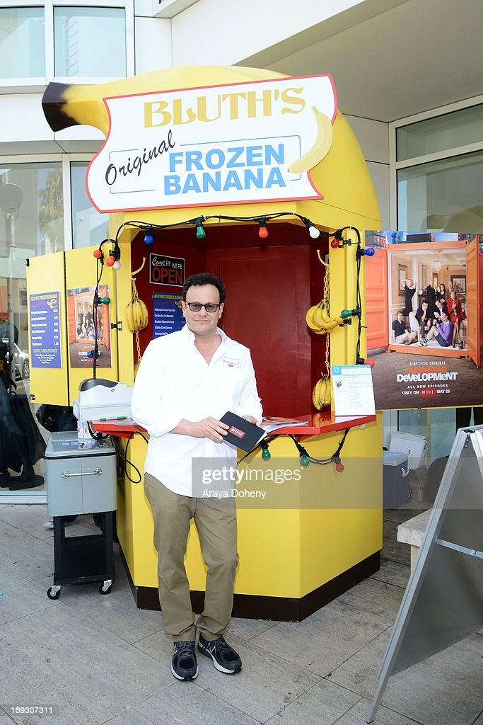 Mitchell Hurwitz attends the 'Arrested Development' Bluth's Original Frozen Banana Stand Third Los Angeles Location at The Paley Center for Media on May 22, 2013 in Beverly Hills, California.