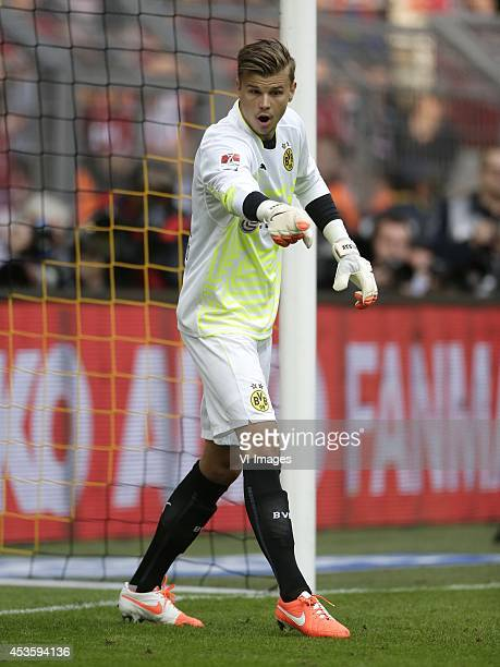 Mitchell James Langerak of Borussia Dortmund during the DFL Supercup 2014 match between Bayern Munich on August 13 2014 at the Signal Iduna Park...