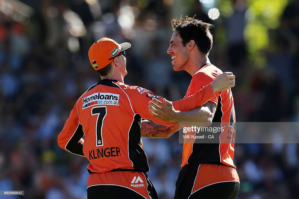 Big Bash League - Semi Final 1: Scorchers v Stars : News Photo