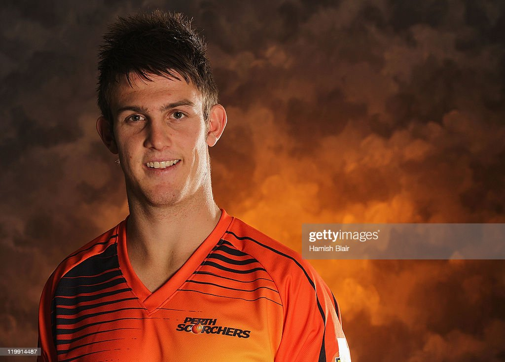 Mitchell Marsh of the Perth Scorchers poses for a portrait ahead of the launch of the KFC T20 Big Bash League on July 27, 2011 in Sydney, Australia.