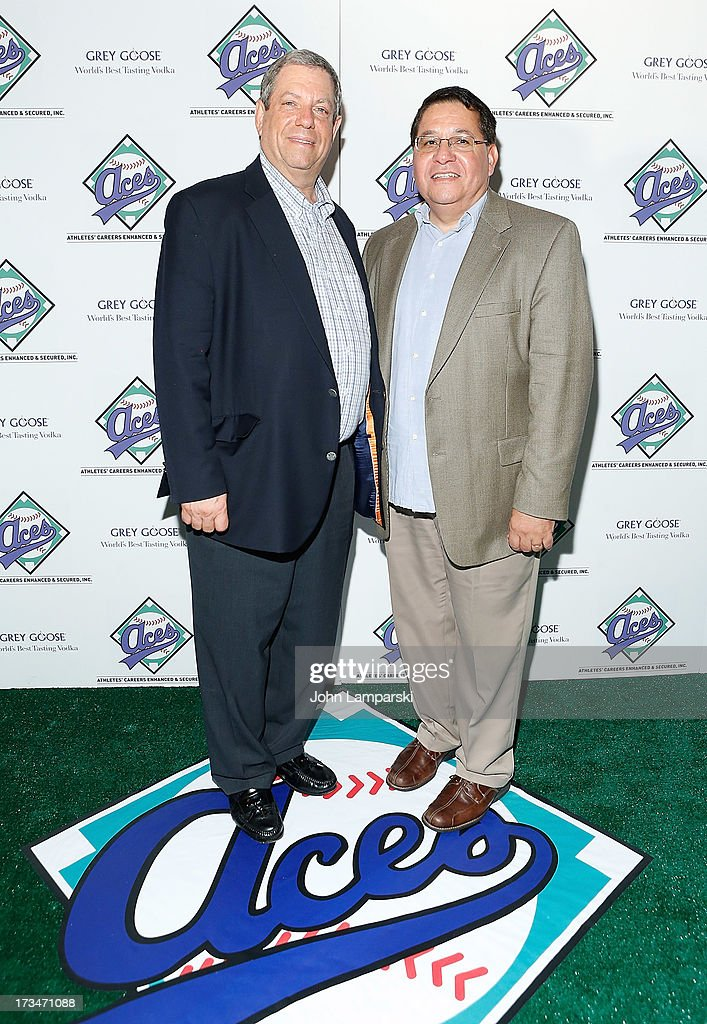Mitchell Modell and Charles Castanada attend ACES Annual All Star Party at Marquee on July 14, 2013 in New York City.