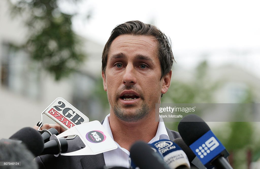 Mitchell Pearce Press  Conference