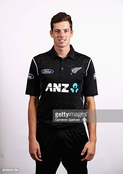 Mitchell Santner poses during a New Zealand headshots session on December 1 2016 in Sydney Australia