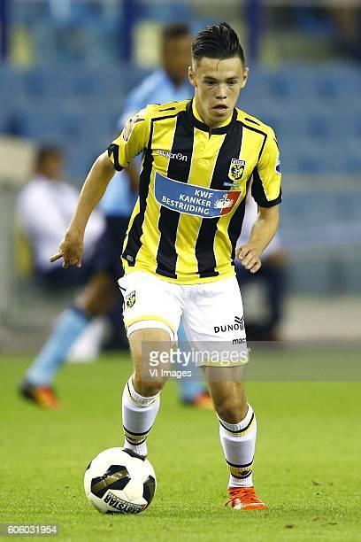 Mitchell van Bergen during the Dutch Eredivisie match between Vitesse Arnhem and FC Utrecht at Gelredome on August 26 2016 in Arnhem The Netherlands