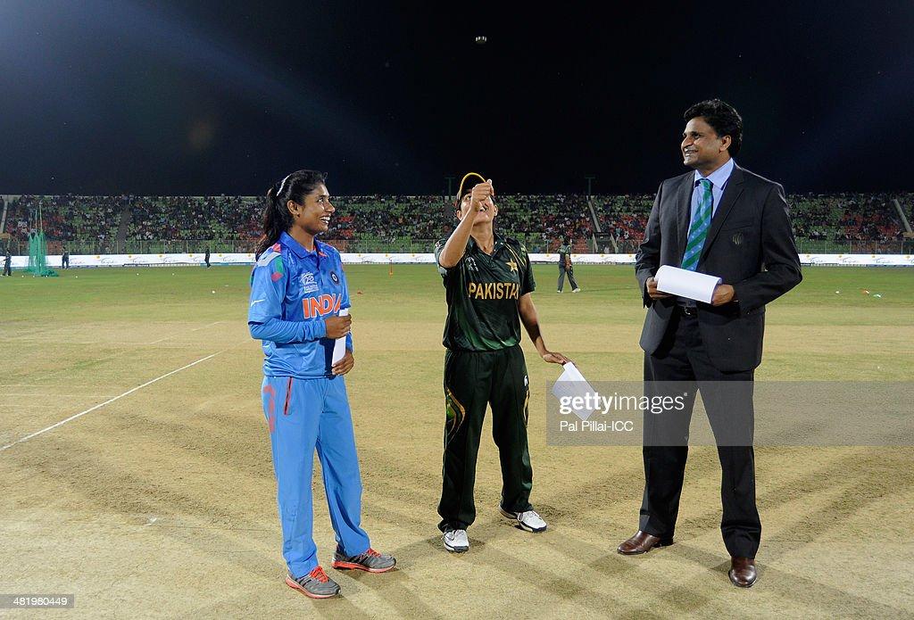 India Women v Pakistan Women - ICC Womens World Twenty20 Bangladesh 2014