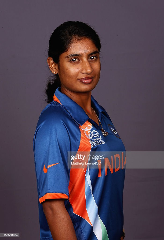 Mithali Raj of India Womens Cricket Team poses for a portrait ahead of the Womens ICC World T20 at the Galadari Hotel on September 22, 2012 in Colombo, Sri Lanka.