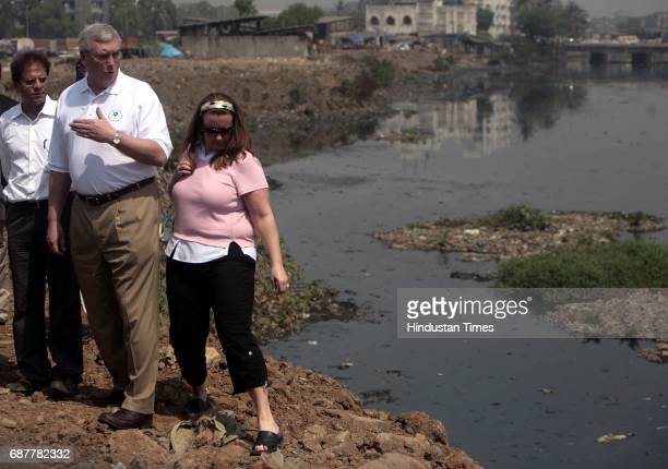 Mithi River Stephen Johnson Administrator US Environmental Protection Agency and his team visit Mithi river on Thursday the team will meet with...