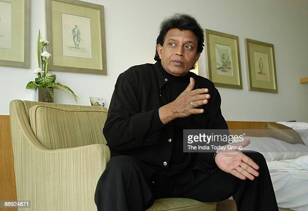 Mithun Chakraborty Bollywood Actor in Kolkata West Bengal India