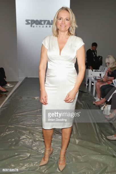 Mitinhaberin Ulli Ehrlich attends the Sportalm Fashion Show Spring/Summer 2018 at Umspannwerk Kreuzberg on July 5 2017 in Berlin Germany