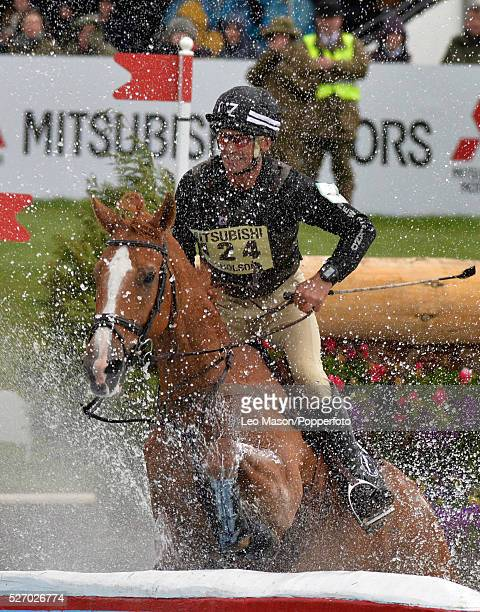 Mitsubish FEI Classic Series 3 dayeventing Badminton horse Trials at Badminton House UK Overnight leader Andrew Nicholson/Nereo NZL The Cross Country...
