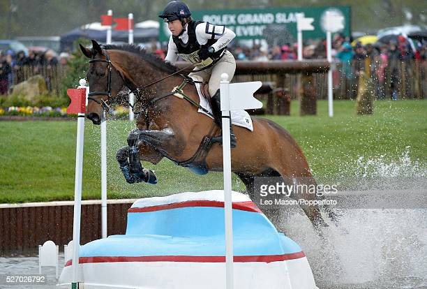 Mitsubish FEI Classic Series 3 dayeventing Badminton horse Trials at Badminton House UK Pippa Funnell/Billy Beware GBR The Cross Country fences at...