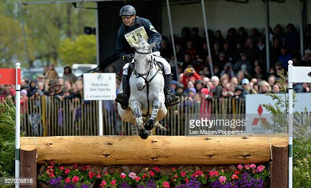Mitsubish FEI Classic Series 3 dayeventing Badminton horse Trials at Badminton House UK Bill Levett/Silk Stone AUS The Cross Country fences at the...