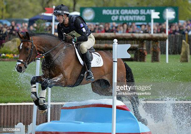Mitsubish FEI Classic Series 3 dayeventing Badminton horse Trials at Badminton House UK Mark Todd/NZB Campino NZL The Cross Country fences at the...