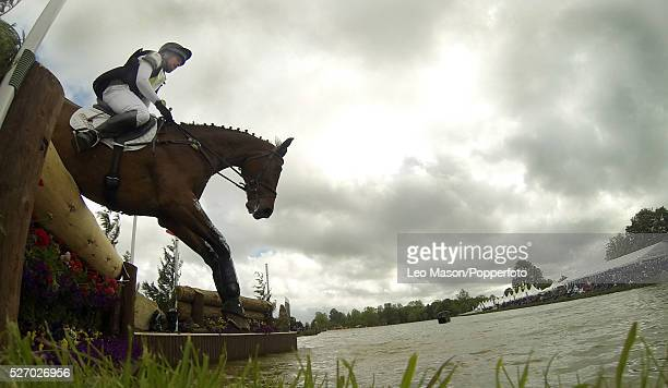 Mitsubish FEI Classic Series 3 dayeventing Badminton horse Trials at Badminton House UK The Cross Country fences at the Lake Complex