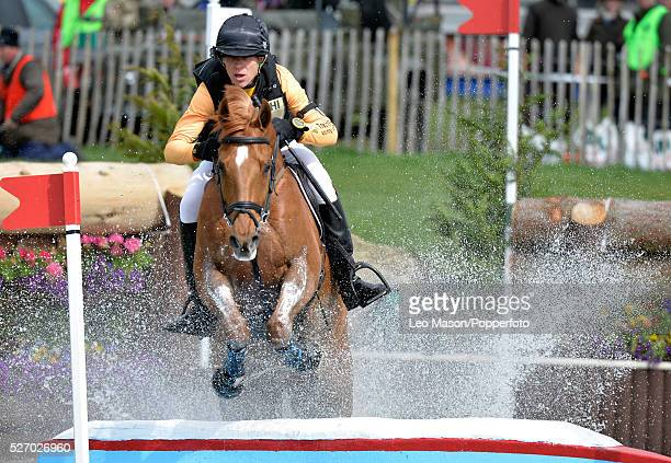 Mitsubish FEI Classic Series 3 dayeventing Badminton horse Trials at Badminton House UK Nick Gauntlett/Grand Manoeuvre The Cross Country fences at...