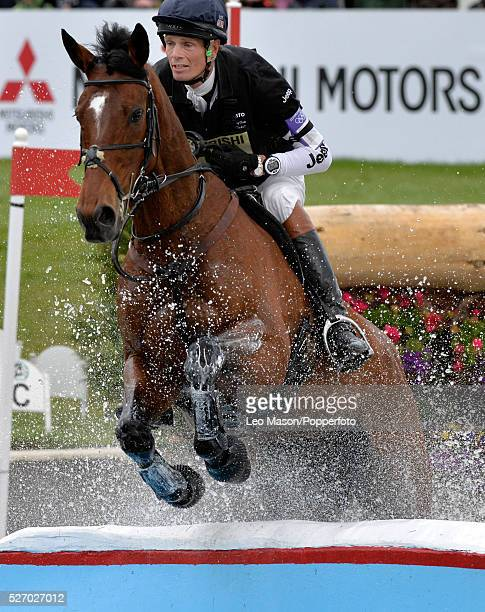 Mitsubish FEI Classic Series 3 dayeventing Badminton horse Trials at Badminton House UK William FoxPitt/Parklane Hawk GBR The Cross Country fences at...
