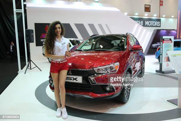 Mitsubishi ASX is being displayed during the Istanbul Autoshow 2017 at the TUYAP Fair and Convention Center in Istanbul Turkey on April 20 2017