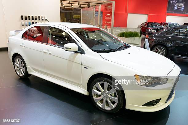 Mitsubishi Lancer Evolution high performance car