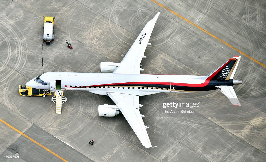 Mrj Made In Japan Airliner Test Continues Getty Images