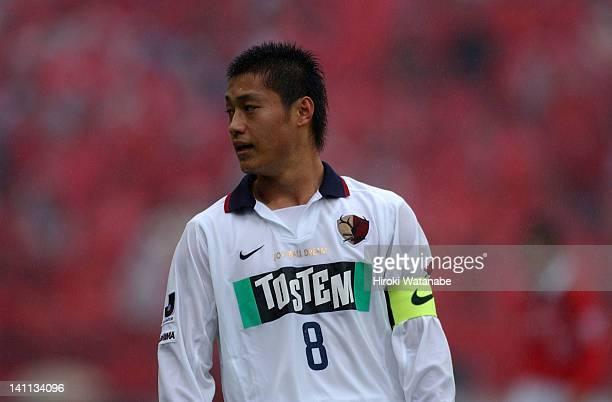 Mitsuo Ogasawara of Kashima Antlers in action during the JLeague match between Urawa Red Diamonds and Kashima Antlers at Saitama Staidum on November...