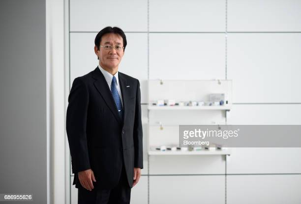 Mitsuo Sawai president of Sawai Pharmaceutical Co poses for a photograph in Tokyo Japan on Wednesday May 17 2017 Sawai Pharmaceutical which plans to...