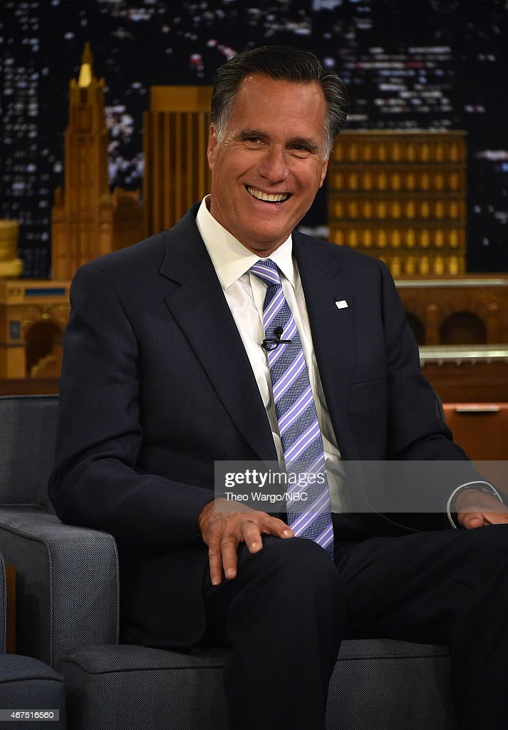"Mitt Romney Visits ""The Tonight Show Starring Jimmy Fallon"""