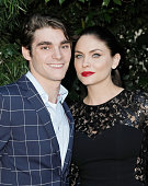 RJ Mitte and Jodi Lyn O'Keefe attend the Academy of Science Fiction Fantasy Horror Films 2013 Saturn Awards at The Castaway on June 26 2013 in...