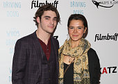 Mitte and Paloma Kwiatkowski attend Premiere Of Katz Agency's 'Who's Driving Doug' at Los Feliz 3 Cinemas on February 26 2016 in Los Angeles...