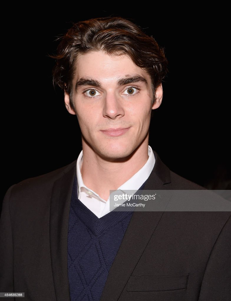 Mitte attends Perry Ellis during MercedesBenz Fashion Week Spring 2015 at The Waterfront on September 4 2014 in New York City