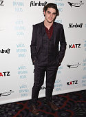 Mitte attends Premiere Of Katz Agency's 'Who's Driving Doug' at Los Feliz 3 Cinemas on February 26 2016 in Los Angeles California