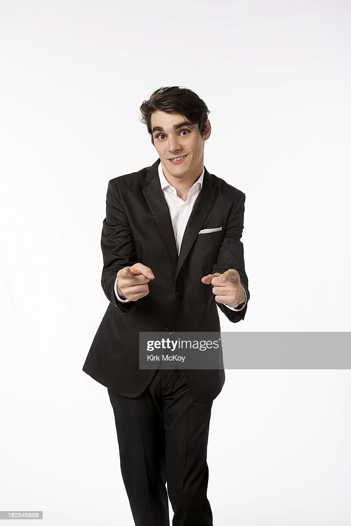 RJ Mitte for Los Angeles Times on September 23, 2013 in Los Angeles, California.
