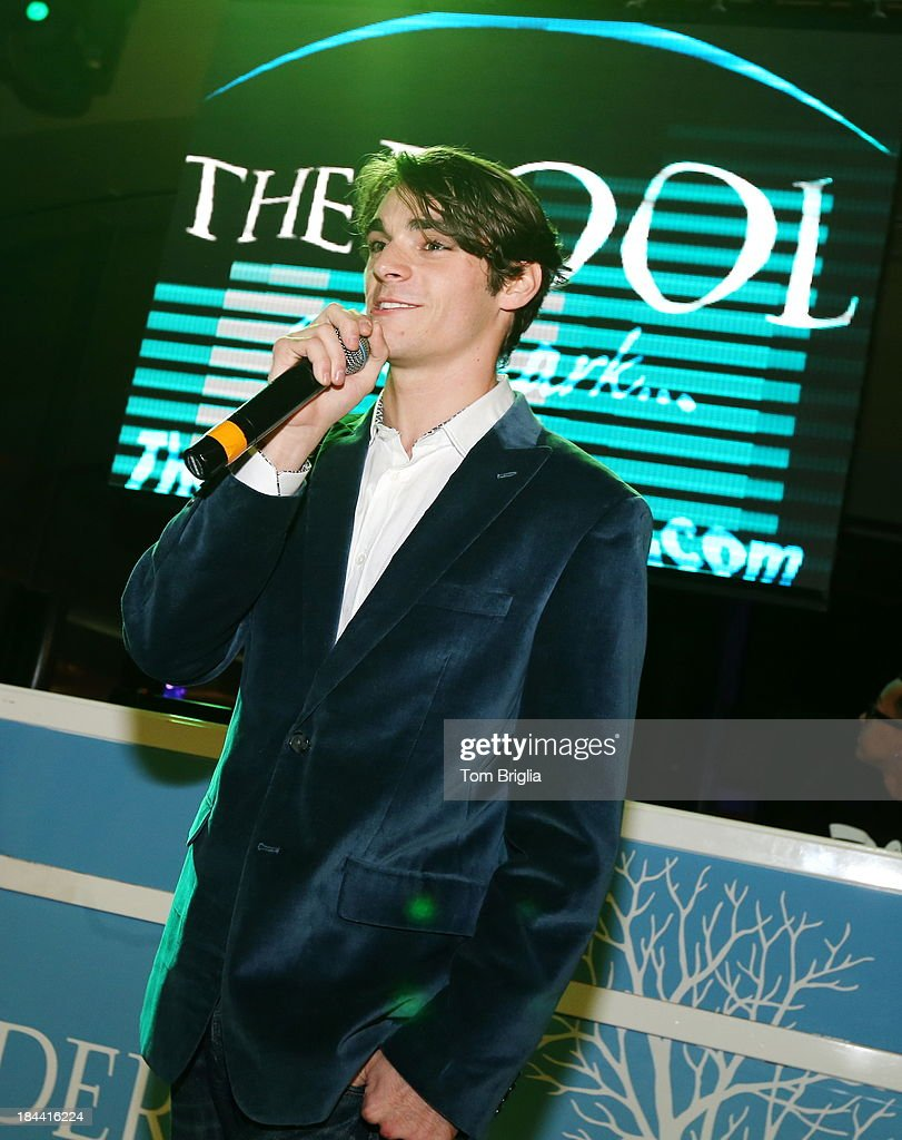 RJ Mitte host The Pool After Dark at Harrah's Resort on Saturday October 12, 2013 in Atlantic City, New Jersey.