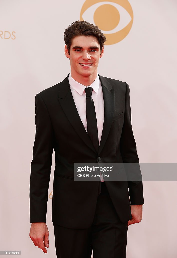 <a gi-track='captionPersonalityLinkClicked' href=/galleries/search?phrase=RJ+Mitte&family=editorial&specificpeople=4542119 ng-click='$event.stopPropagation()'>RJ Mitte</a> on the Red Carpet for the 65th Primetime Emmy Awards, which will be broadcast live across the country 8:00-11:00 PM ET/ 5:00-8:00 PM PT from NOKIA Theater L.A. LIVE in Los Angeles, Calif., on Sunday, Sept. 22 on the CBS Television Network.