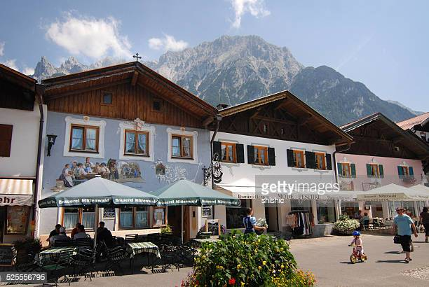 Mittenwald, Bavarian village, Germany