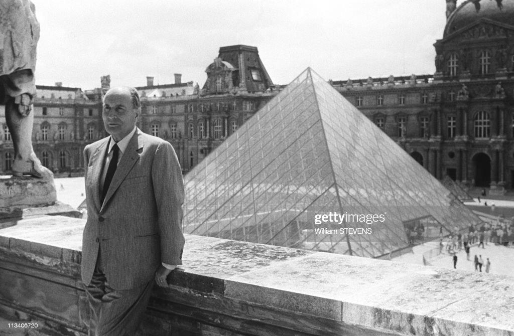 Histoire des arts ni l 39 un ni l 39 autre la pyramide de pei h d a rup - Inauguration pyramide louvre ...