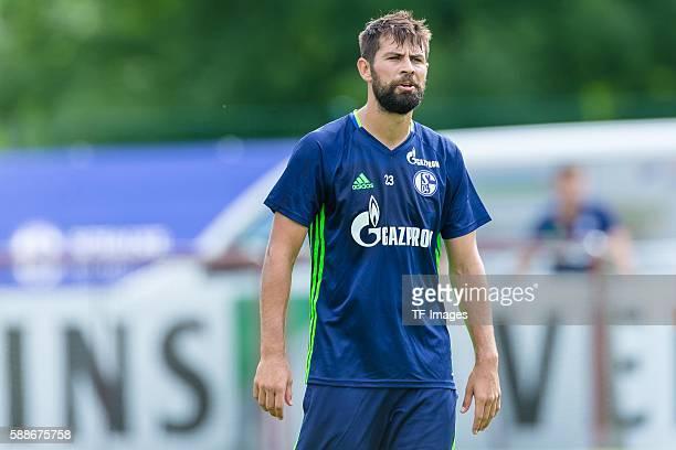 Mittersill Oesterreich Trainingslager FC Schalke 04 Coke