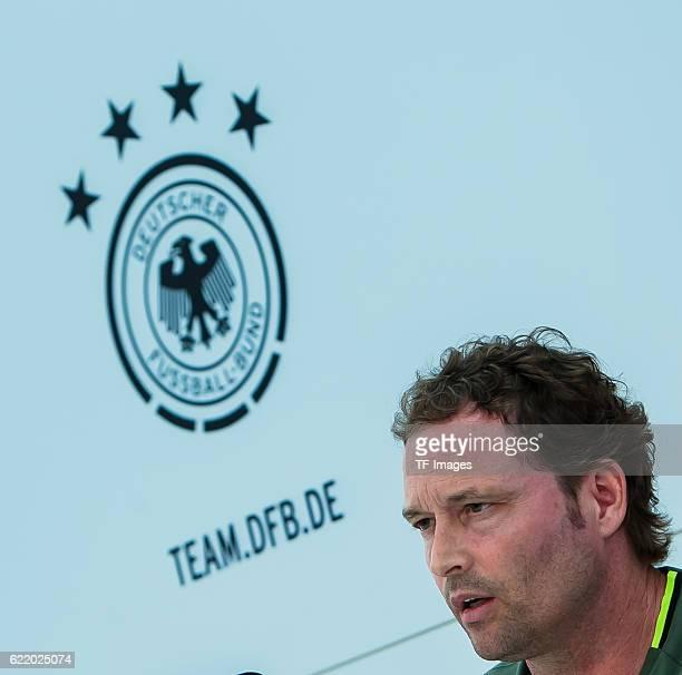 Mittwoch Trainingslager der Deutschen Nationalmannschaft in Ascona Assistenztrainer Marcus Sorg