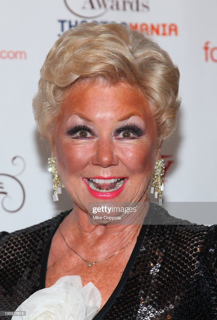 Mitzi Gaynor arrives at the 55th Annual Drama Desk Awards at the FH LaGuardia Concert Hall at Lincoln Center on May 23, 2010 in New York City.