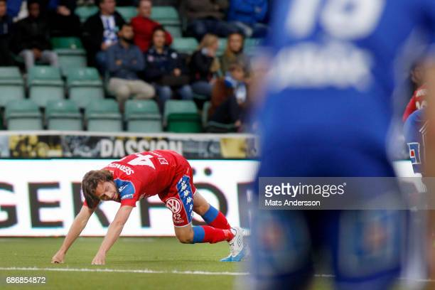 Mix Diskerud of IFK Goteborg during the Allsvenskan match between GIF Sundsvall and IFK Goteborg at Idrottsparken on May 22 2017 in Sundsvall Sweden