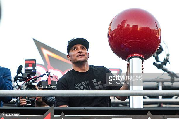 Mix Master Mike performs at Doritos #MixArcade Day 3 at LA LIVE on June 16 2016 in Los Angeles California
