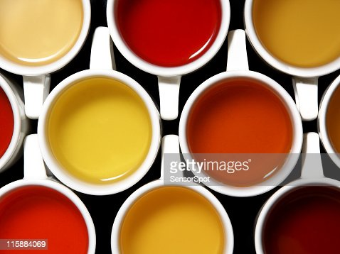 Mix of teas and colours