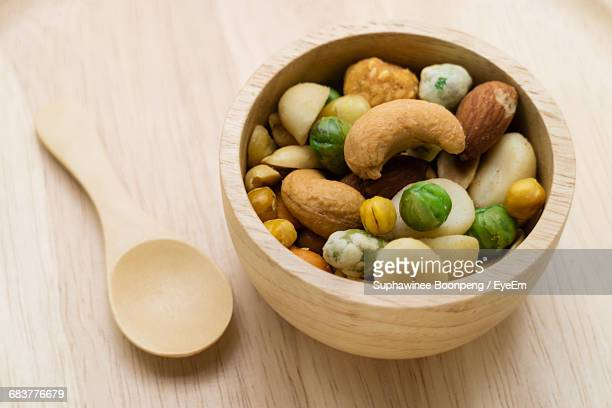Mixed Assorted Dry Fruit Inside Bowl