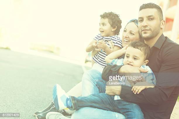 Mixte couple avec enfants