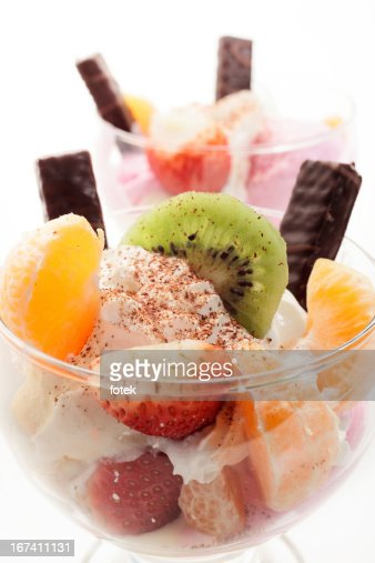Mixed ice cream : Stockfoto